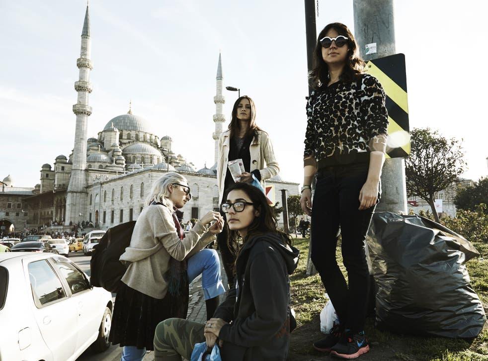 Warpaint in Istanbul