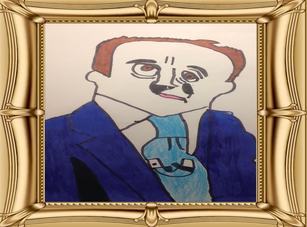 David Cameron has been depicted by a number of enthusiastic young artists