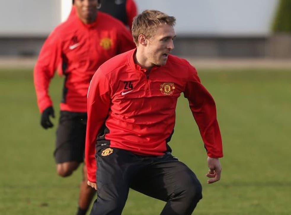 Positive move: Moyes has been impressed by Darren Fletcher's return
