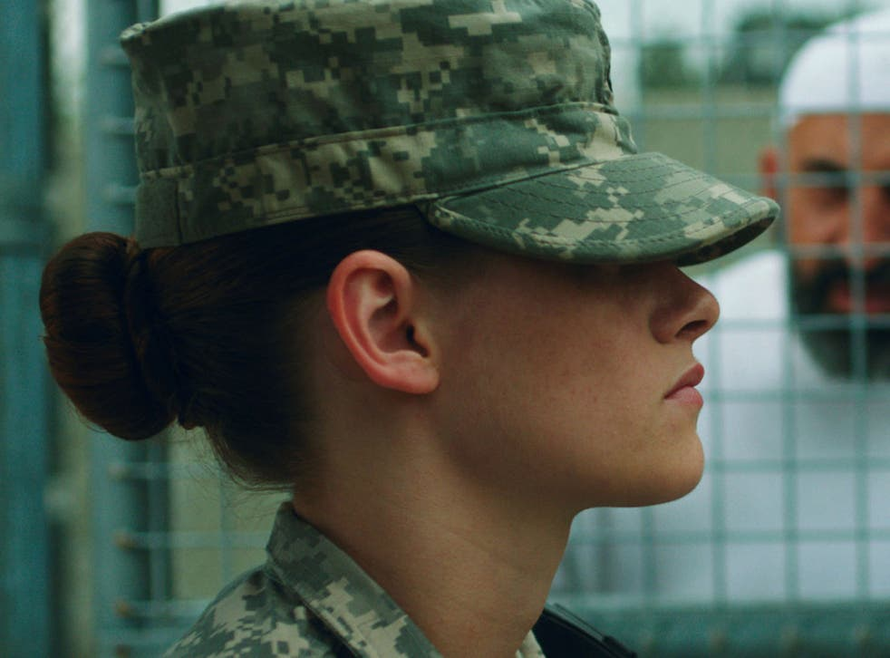 Kristen Stewart as Private Amy Cole in Peter Sattler's 'Camp XRay'