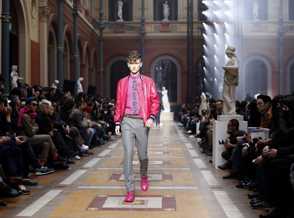 The Lanvin runway show at Paris Fashion Week