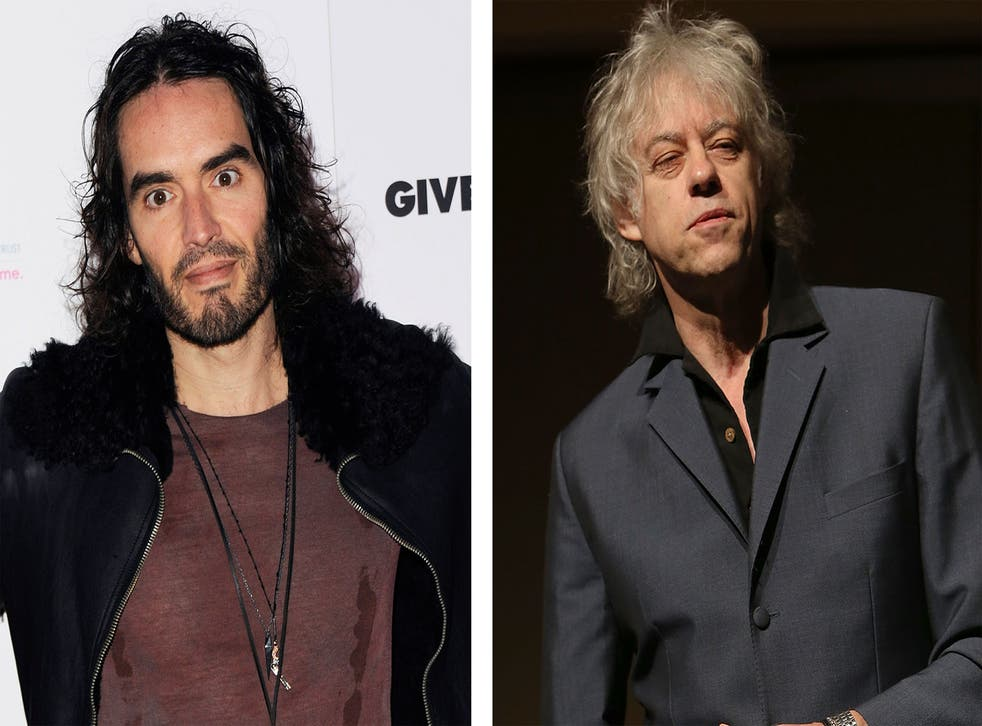 If anyone was set to back Russell Brand's impassioned call for political revolution, as outlined in an essay for the New Statesman in November, we'd have put money on Sir Bob Geldof doing the honours.