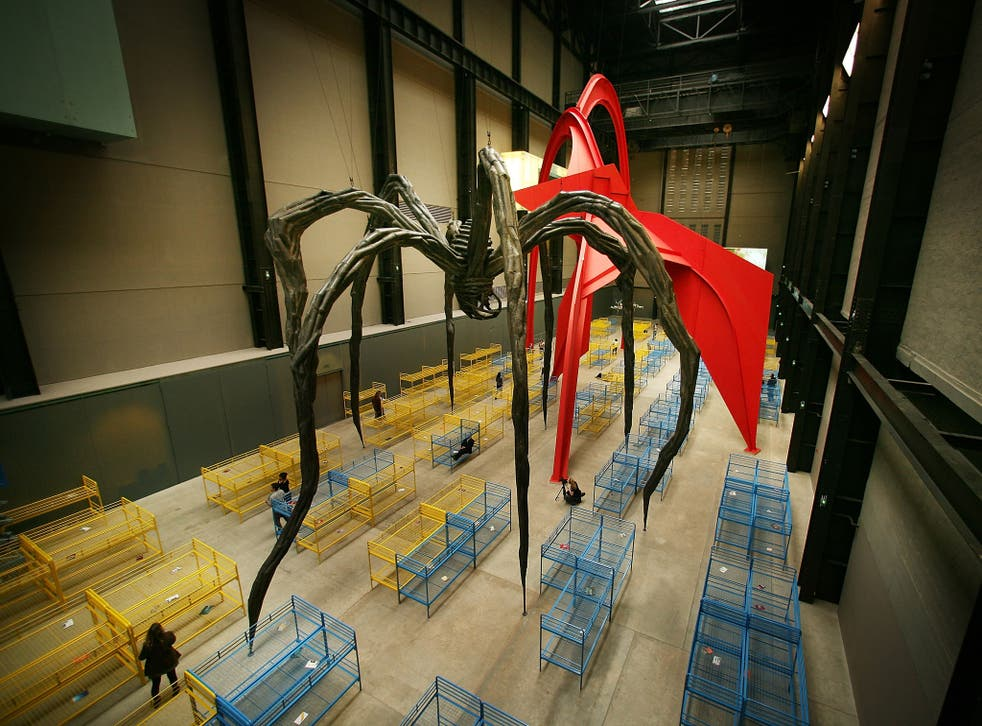 Dominique Gonzalez-Foester's installation 'TH.2058' which opened in October 2008 at the Tate modern