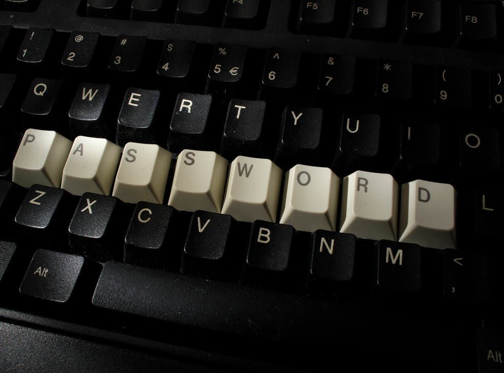 If you can't remember your password, trying leaving yourself a subtle hint.