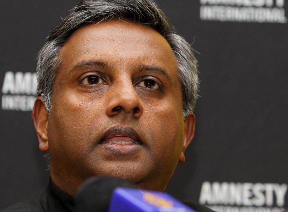 Salil Shetty, the head of Amnesty International