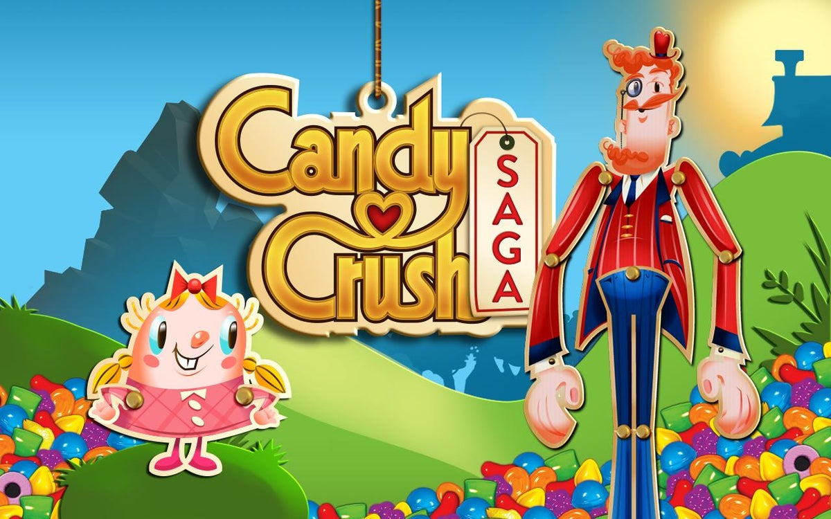 Candy Crush Saga Creator King Gets Greedy And Trademarks The Word Candy The Independent The Independent