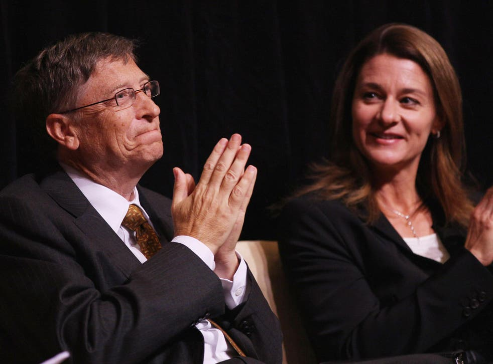 Bill and Melinda Gates, whose charitable foundation publishes an annual letter tackling issues surrounding world poverty