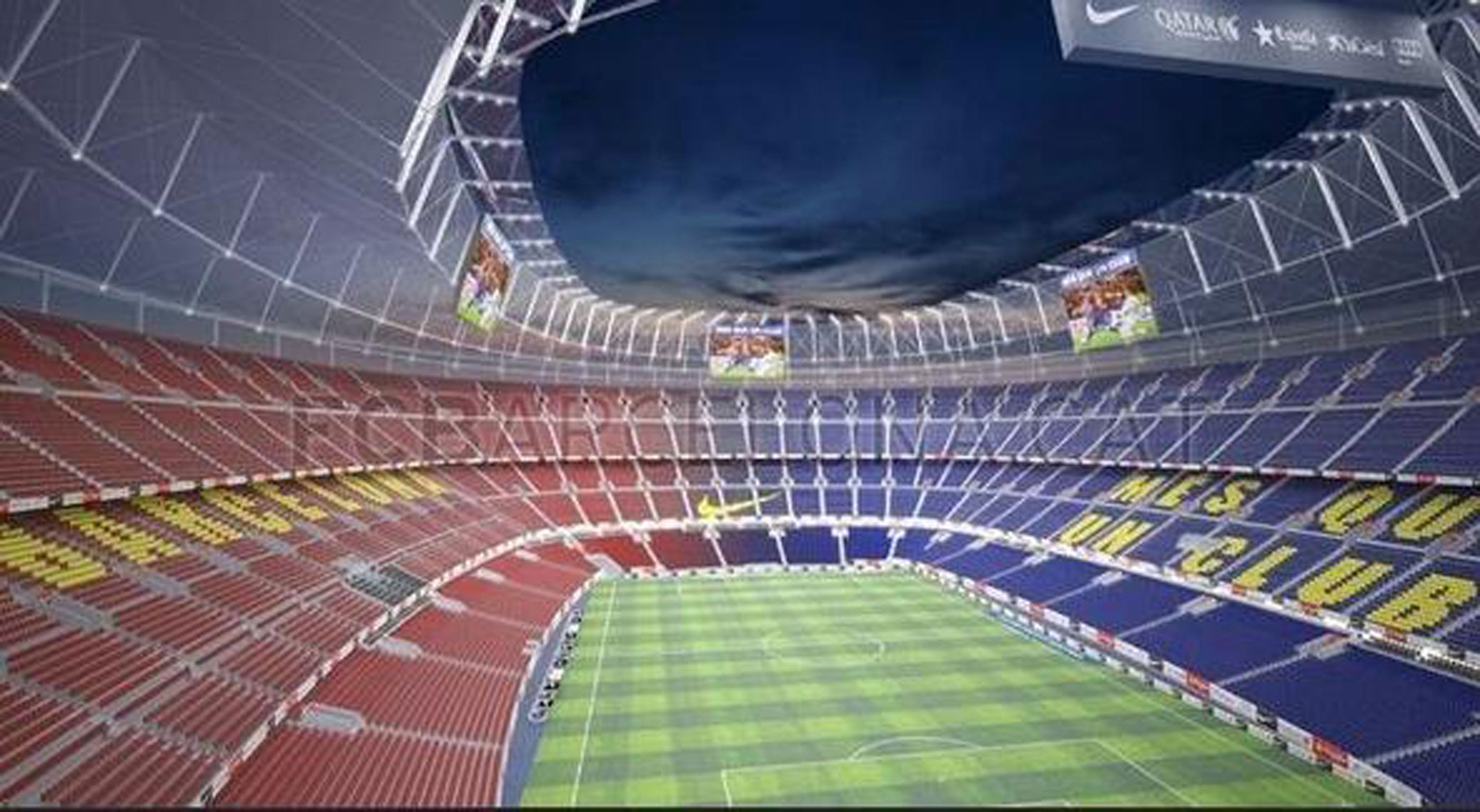 barcelona set to redevelop nou camp to increase capacity