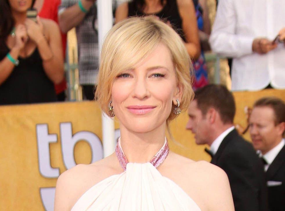 Cate Blanchett, actress