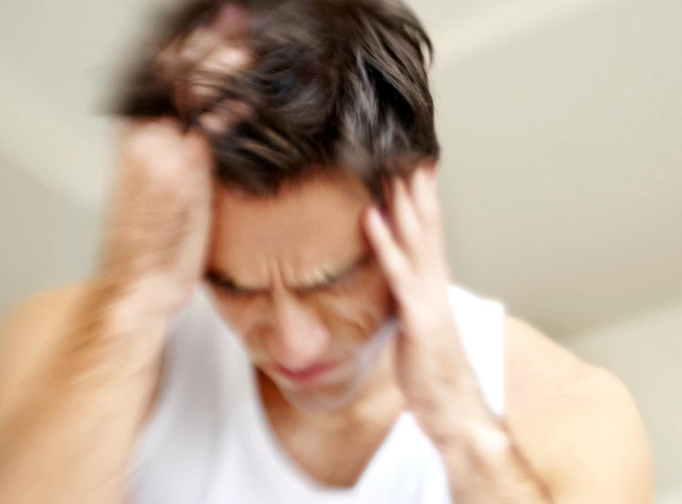 The headaches affect about 15 per cent of the world's population