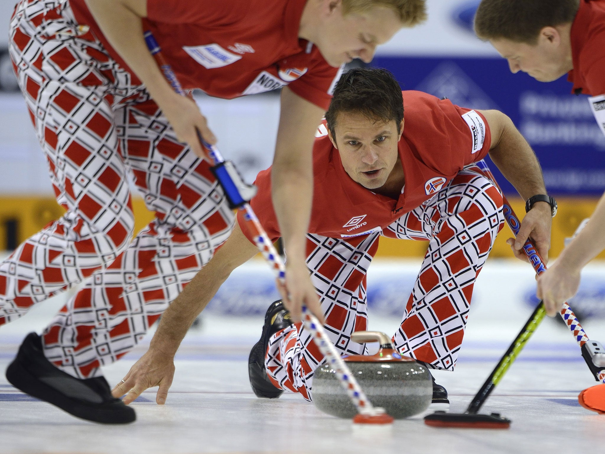 Winter Olympics 2014: Norway curling team unveils much