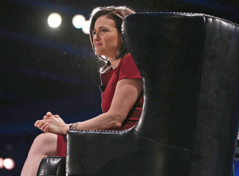 Who wants to be a billionaire? Facebook's chief operating officer Sheryl Sandberg