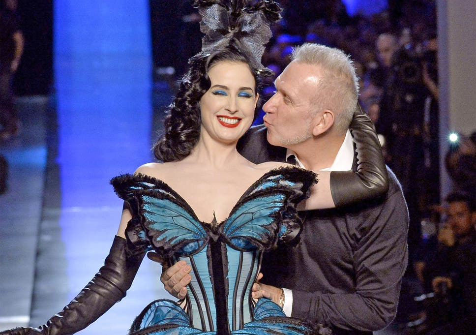 901c8157a6e Paris Fashion Week  Jean Paul Gaultier tries to transmogrify haute couture  at spring summer 2014 show