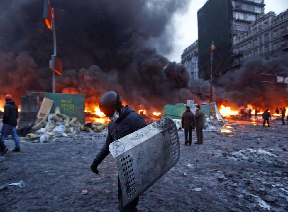 Police and demonstrators have fought running battles which have left at least two people dead