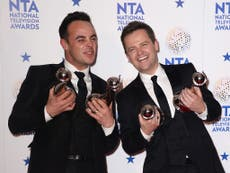 National Television Awards 2018 Shortlist Announced