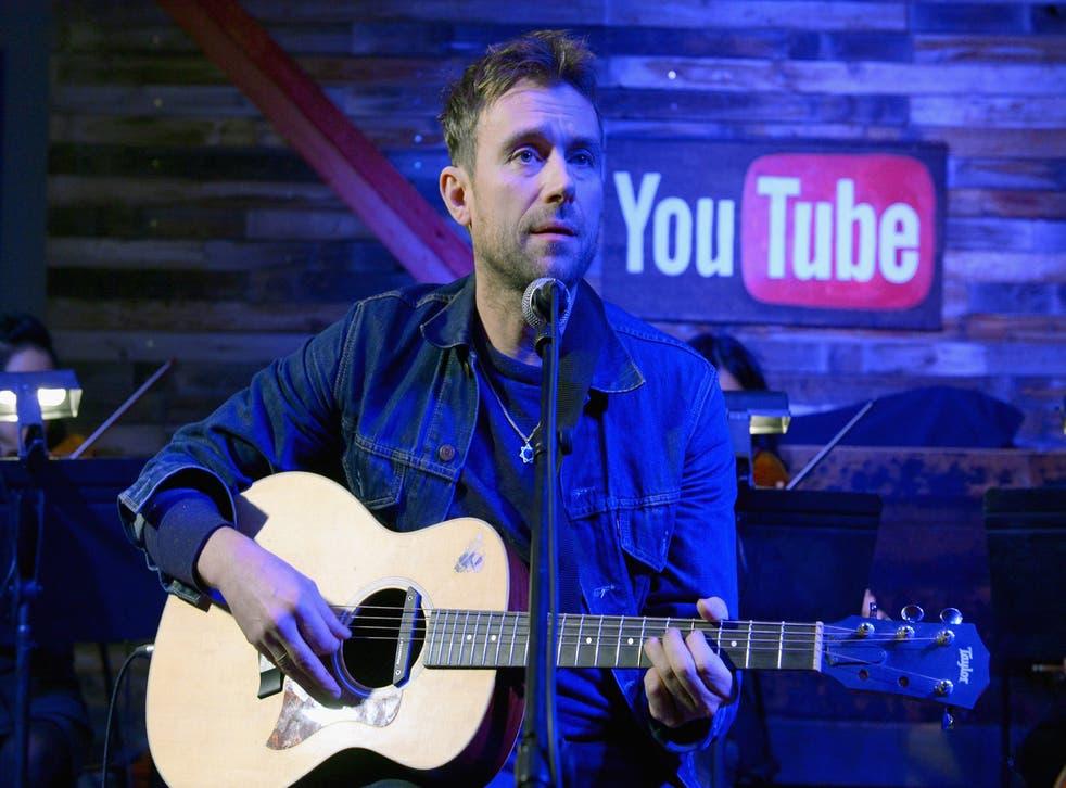 Damon Albarn performs on stage at Sundance Film Festival in Utah