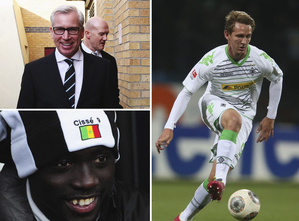Newcastle's Papiss Cisse rejects player swap role in Luuk De Jong deal