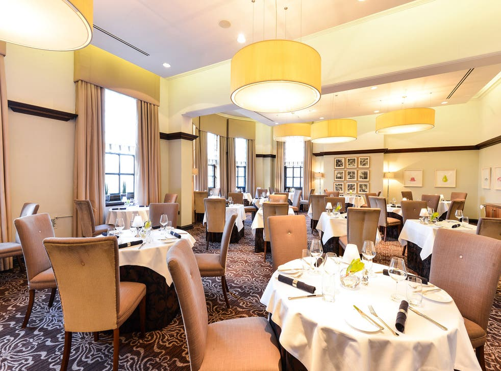 Baroque revival: The Grill Room at the Grand is housed in the former headquarters of the North East Railway in York