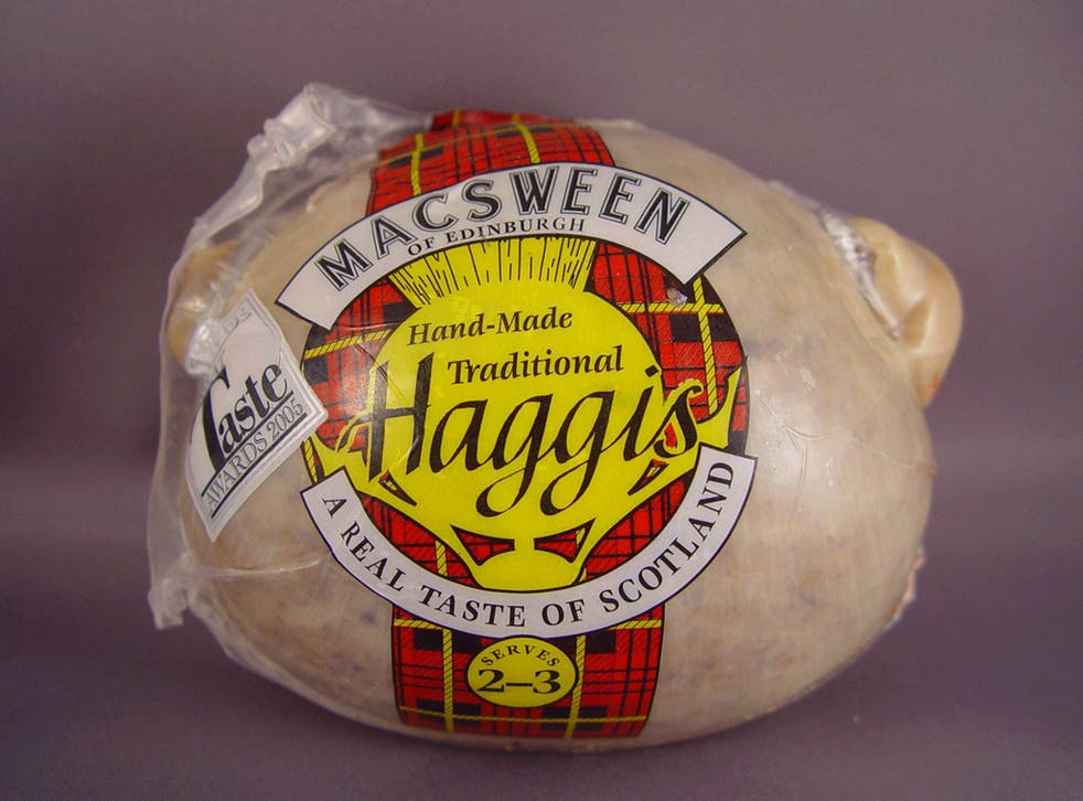A Macsween's Haggis was to blame for the disturbance