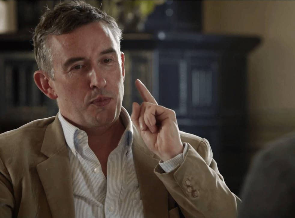 Steve Coogan stars in The Trip To Italy