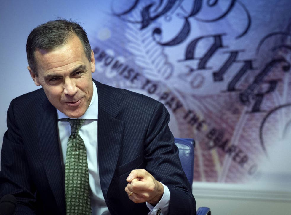 Mark Carney; '[there is] no immediate need to increase interest rates'