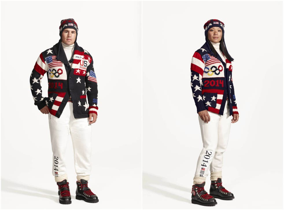 Ralph Lauren described the uniform as 'dynamic'