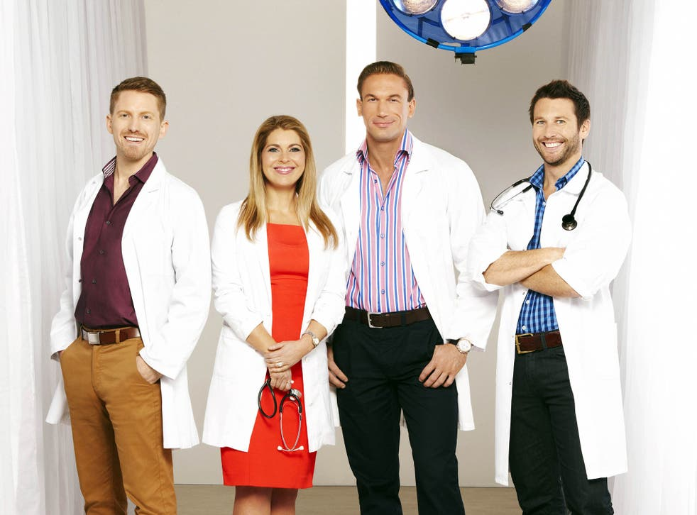 Dr Christian Jessen, here pictured second from the right with the Embarrassing Bodies team, is to take part in Cure Me, I'm Gay