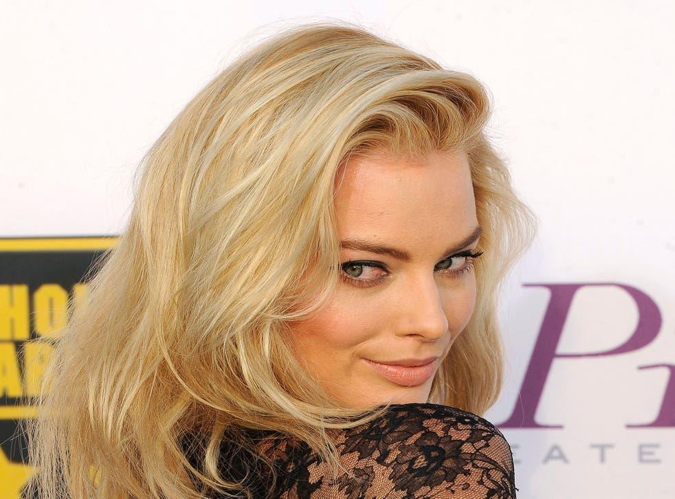 Margot Robbie for Playboy covershoot: Hugh Hefner eyes up Wolf of Wall Street star for nude spread