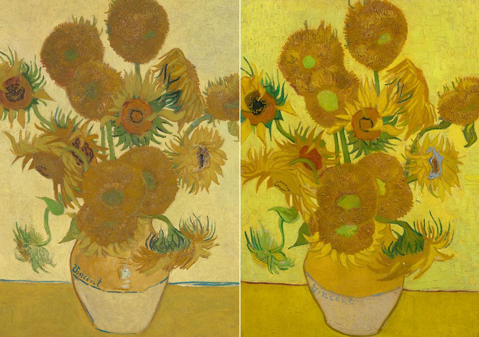 Two Van Gogh Sunflowers Shown Together At National Gallery For First