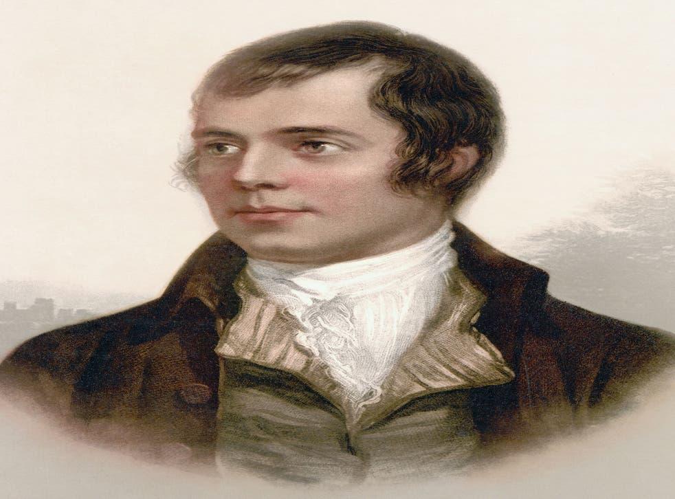 Robert Burns, 1759 to 1796. Scottish Poet