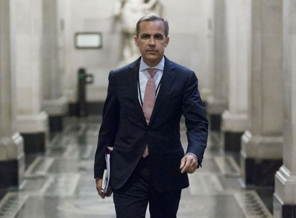 Mark Carney's speech implied there would be no early rise in interest rates