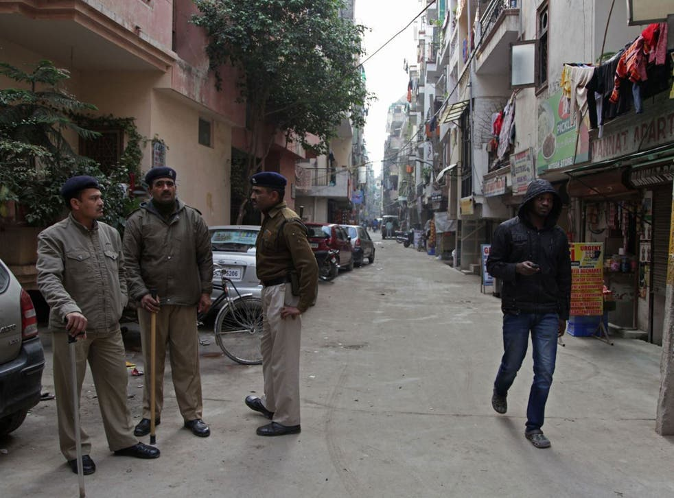 Under suspicion: Africans in the Khirki district of Delhi have accused Indians of racist behaviour, but some traders welcome migrants