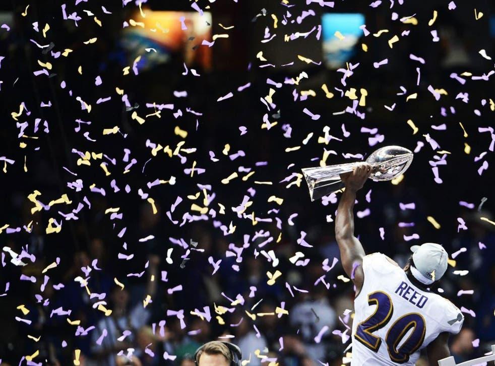 Last year's Super Bowl winners Baltimore Ravens