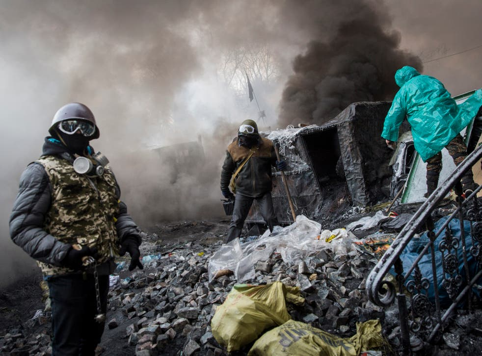 The situation in the city is likely to get worse before it gets better, analysts say, and Kiev is braced for the likelihood of more violence today