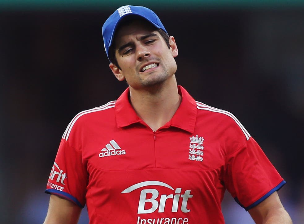 It has been a tour to forget for Alastair Cook