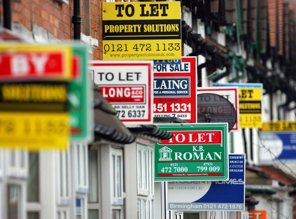 39 per cent of the London households that became homeless were made so because their tenancies were ended