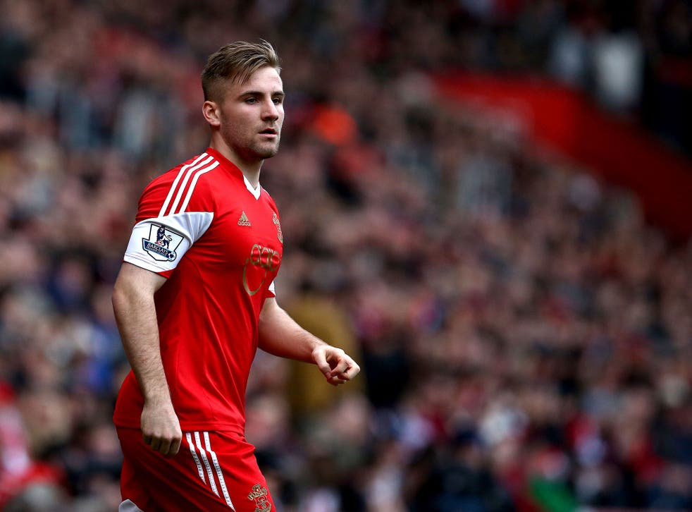 Manchester United are yet to lodge a bid for 18-year-old Southampton left-back Luke Shaw, though a move is possible this week