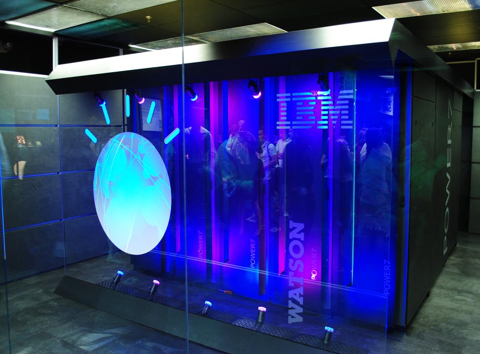 IBM's Watson artificial intelligence machine