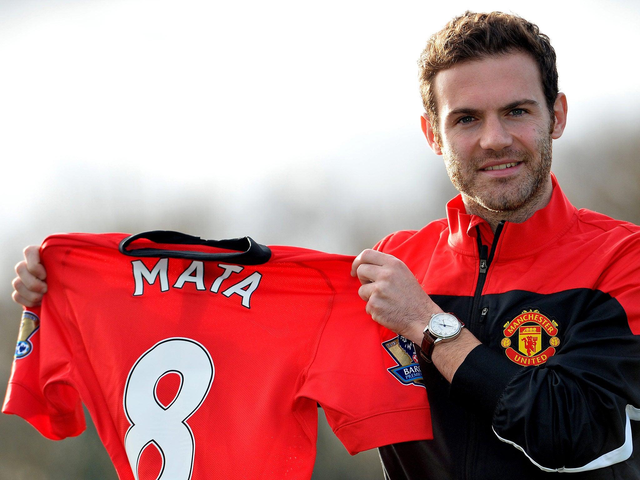 Juan Mata Unveiling: £37.1m Manchester United Signing