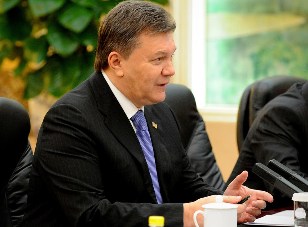 Viktor Yanukovych was 'going to make concessions in order to restore peace,' according to a spokesman