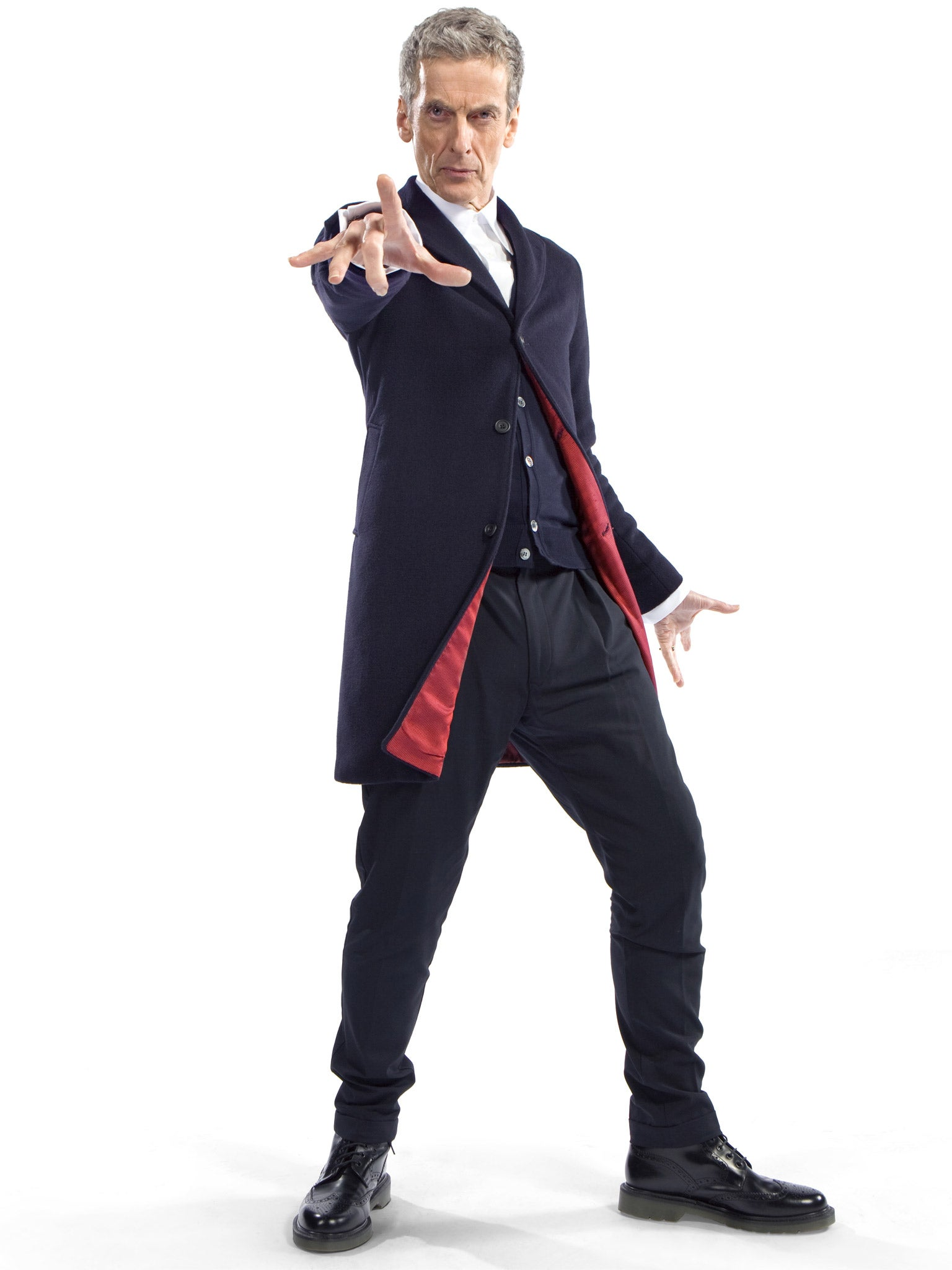 Doctor Who and Crombie: Mod man with a box | The Independent