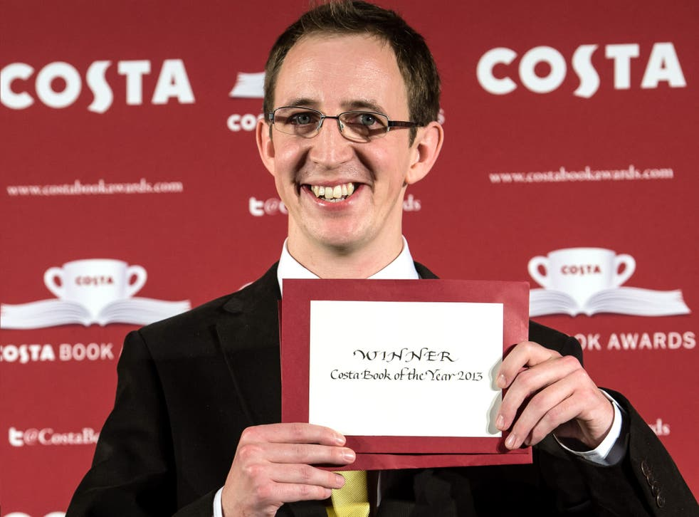 Nathan Filer, winner of the 2013 Costa Book of the Year