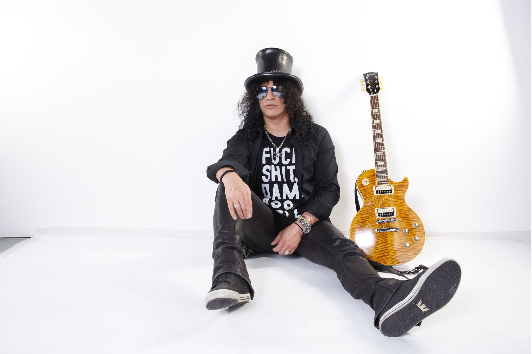 The Conversation: Guns N' Roses guitarist Slash talks horror movies,  growing up in Stoke-on-Trent - and his love of oatcakes | The Independent