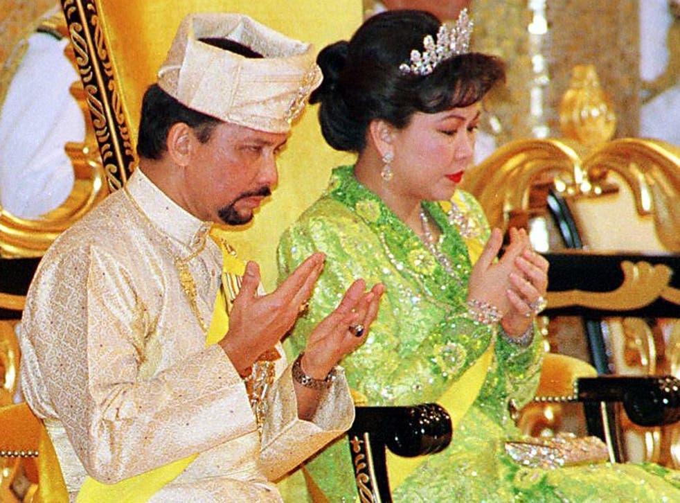 Sultan Hassanal Bolkiah and ex-wife Mariam Aziz, pictured in 1999