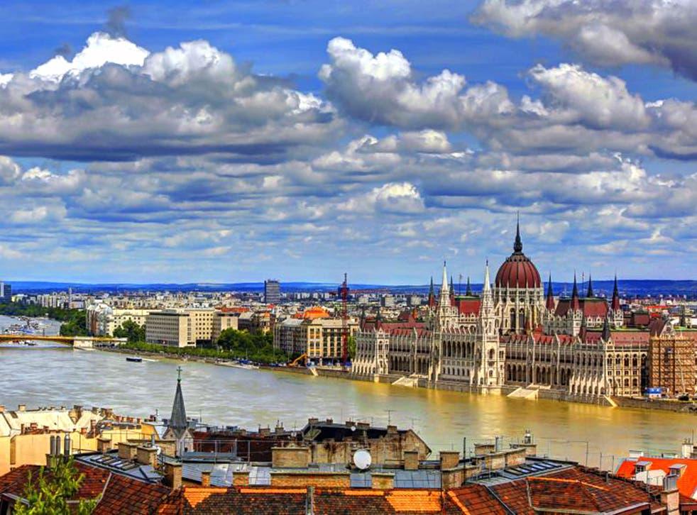 Hungary appetite: Budapest appealed to Jenna Coleman