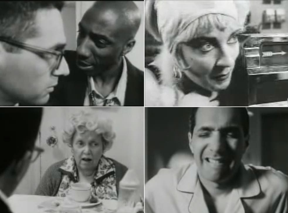 Virgin territory: scenes from Louis C.K.'s 1998 debut  film, 'Tomorrow Night',  with Steve Carell