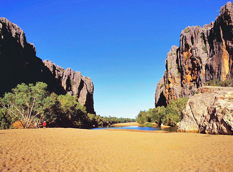 From Windjana (pictured), Lennard, Bell and Adcock's to Manning, Mt Barnett and Galvan's, each has a unique character and all have sublime swimming holes