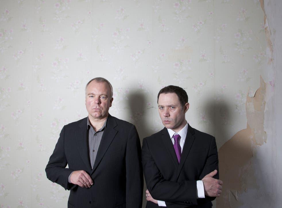 Psychopals: Steve Pemberton and Reece Shearsmith (right)