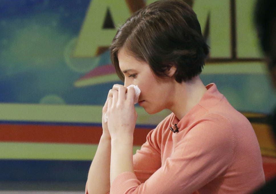 Its not right to say there is no evidence in the case against amanda knox wipes her nose with a tissue while making a television appearance in new york ccuart Gallery