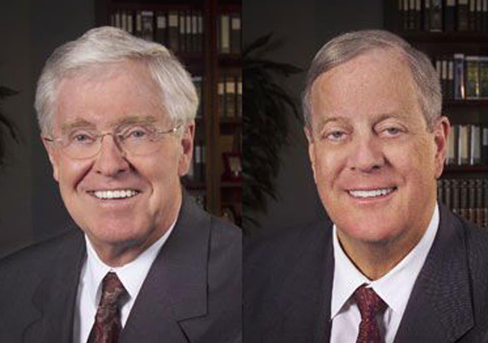 Charles David Koch We Know Who You Are >> Charles And David Koch The Billionaire Brothers Trying To Buy